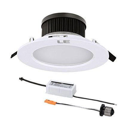 Le 12w Dimmable 4 Inch Led Recessed Light 25w Fluorecent Bulb Equivalent 750lm Daylight White Retrofit Recessed Lighting Recessed Ceiling Fluorescent Bulb 4 inch led recessed lighting kit