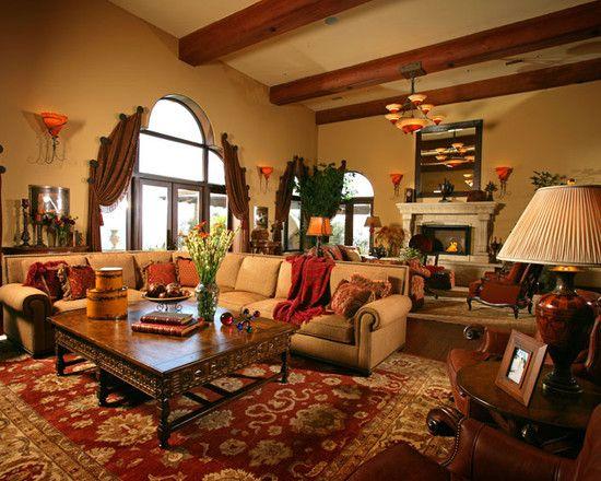 Stunning Mediterranean Homes Spanish Style Decor Spanish Interior Design Spanish Interior Spanish inspired living room decor