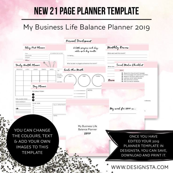 Create your own planners in #Designsta which is an online design tool for entrepreneurs, bloggers and creatives with little to no design skills. Use the easy-to-use drag and drop features. You can make printables, planners, workbooks, Pinterest pins, infographics, social media graphics and the list goes on! Join in with #entrepreneurs, #bloggers & #creatives all over the world using Designsta and create gorgeous #graphics to help grow your #business.