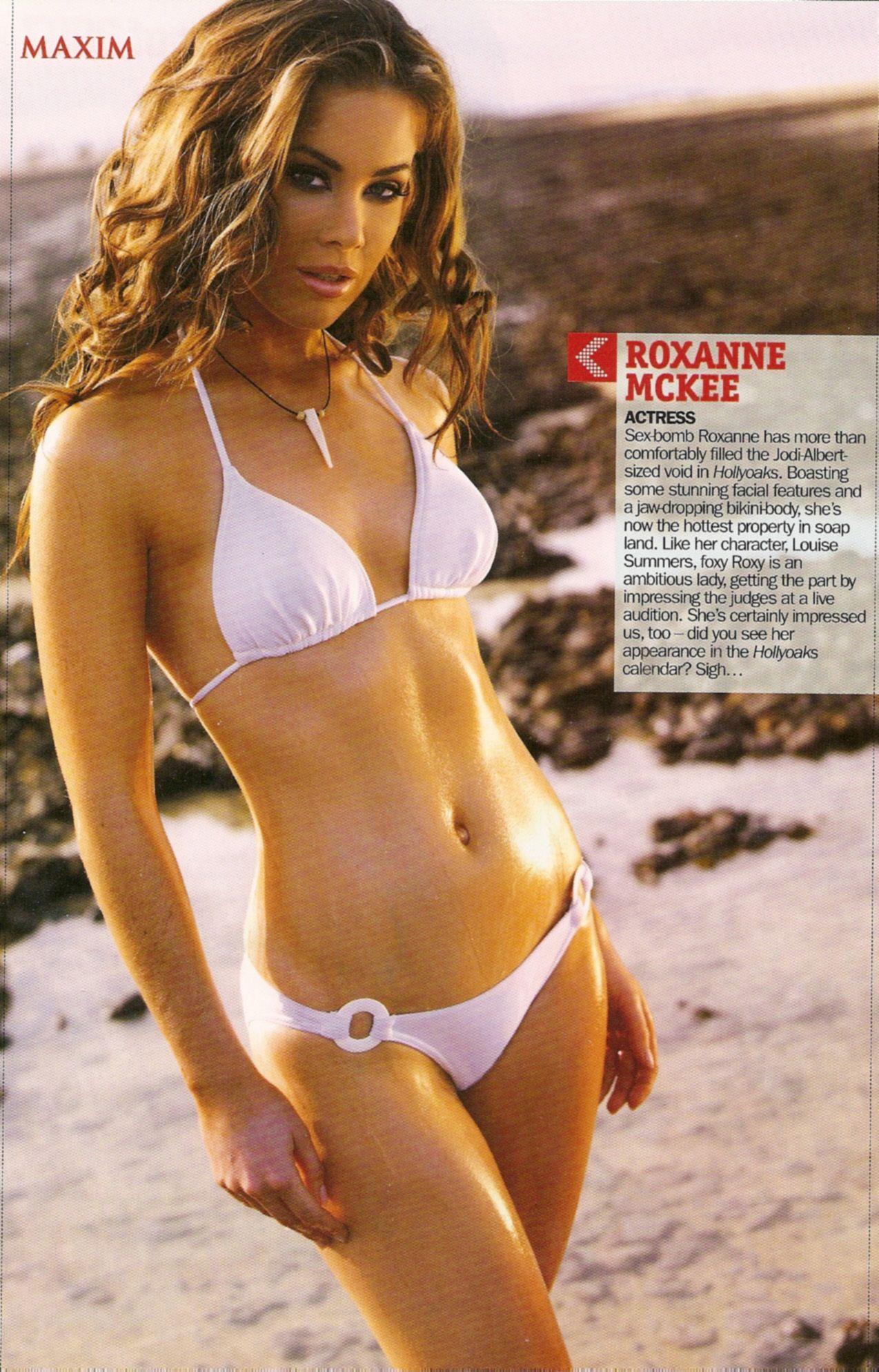 6ff699a08e0 Roxanne McKee Maxim--Gorgeous-Yum.... | Roxanne McKee | String ...