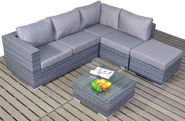 Platinum Small Corner Right With Coffee Table Garden Sofas Corner Sofa Set Rattan Garden Furniture Garden Sofa Set