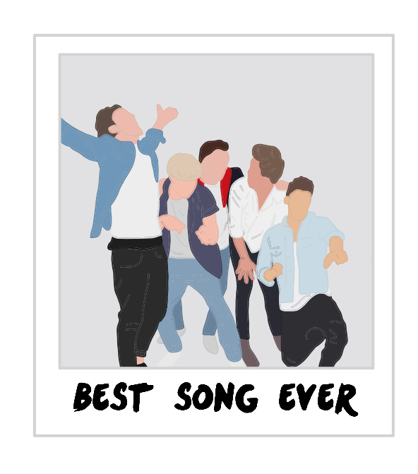 Best Song Ever Polaroid One Direction Drawings One Direction Art One Direction Songs