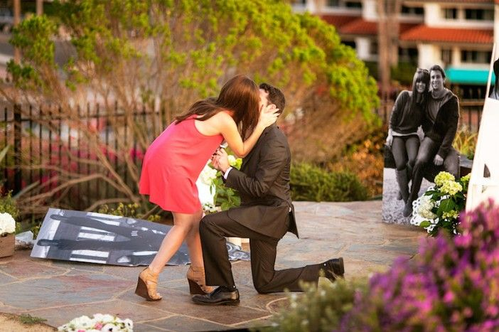 An Amazing Marriage Proposal Idea Comes To Life Marriage