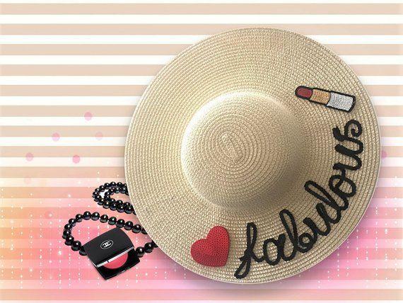 Fabulous Custom Straw Hat  fbd8b89ae61