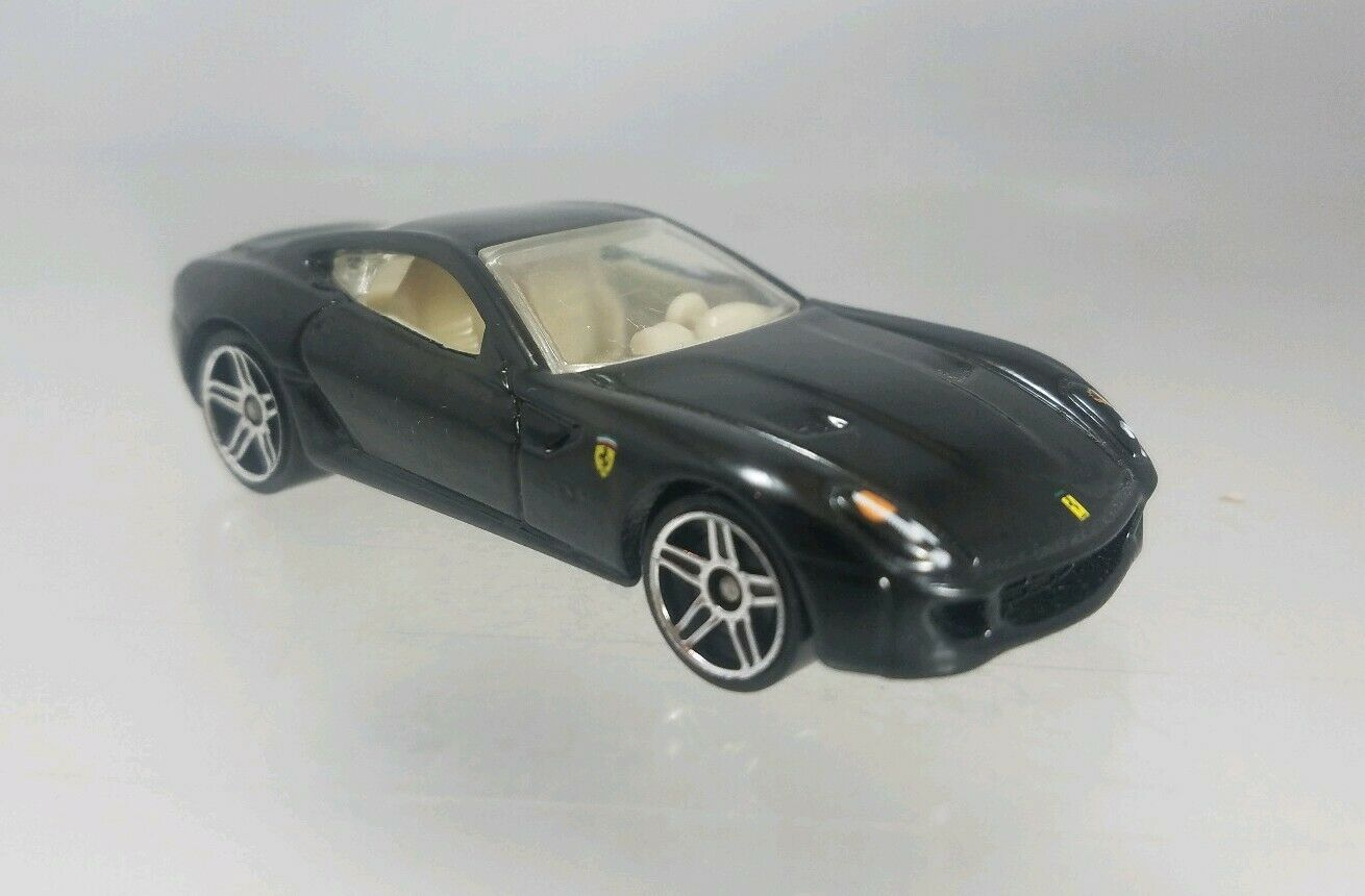 Hot Wheels Ferrari 599 GTB New Models Black - 2007 #newferrari