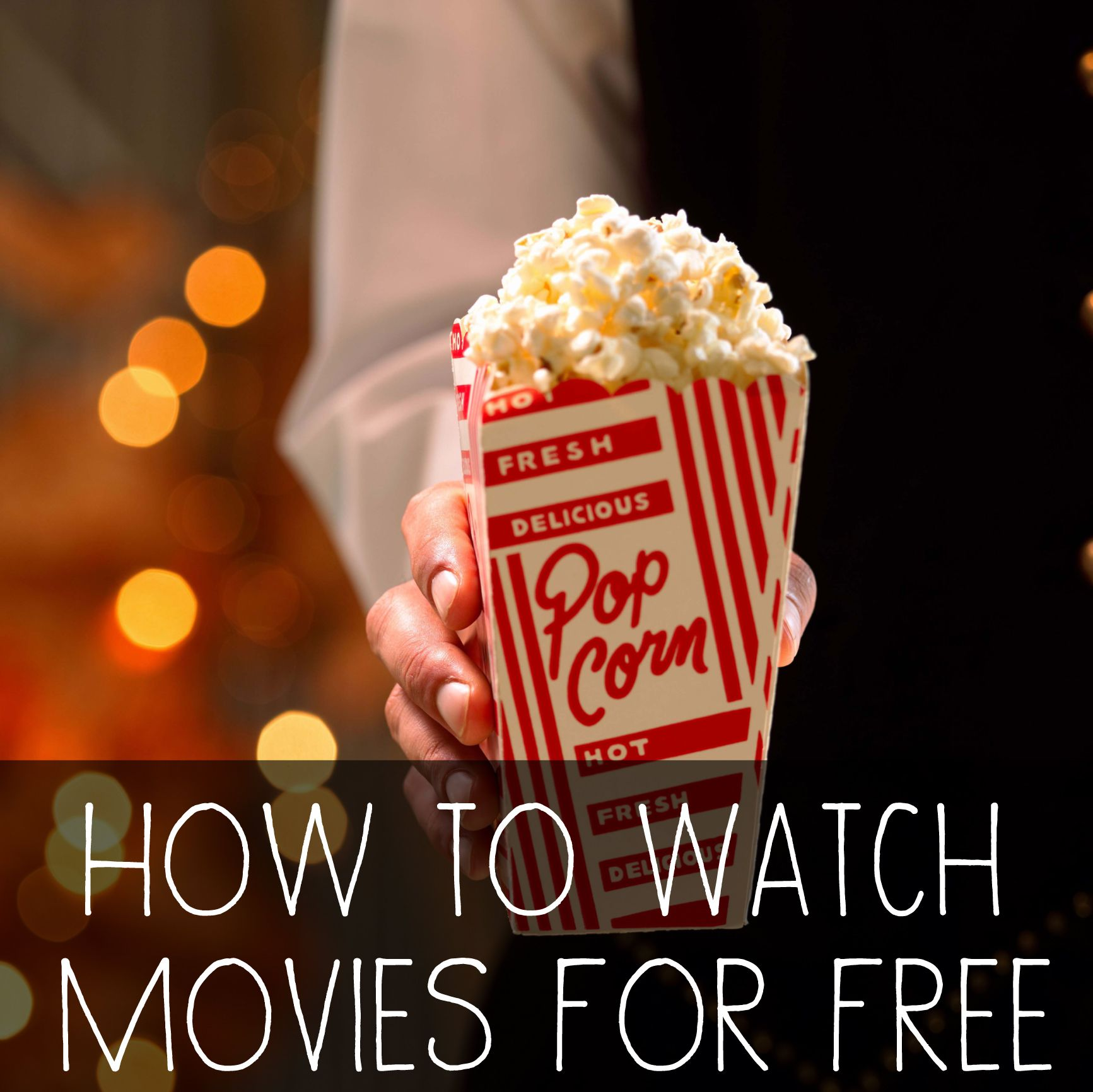 How to Watch Movies in the Theater For Free Food, Movies