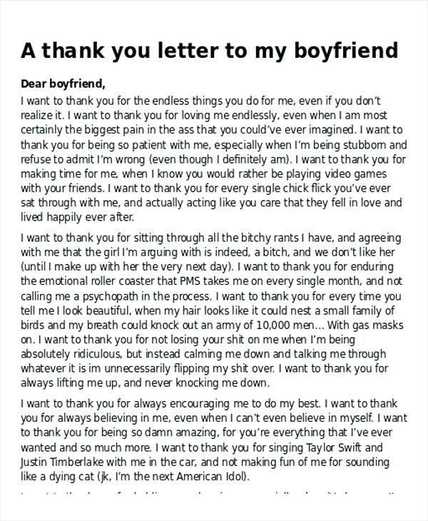 Liebesbrief für den freund