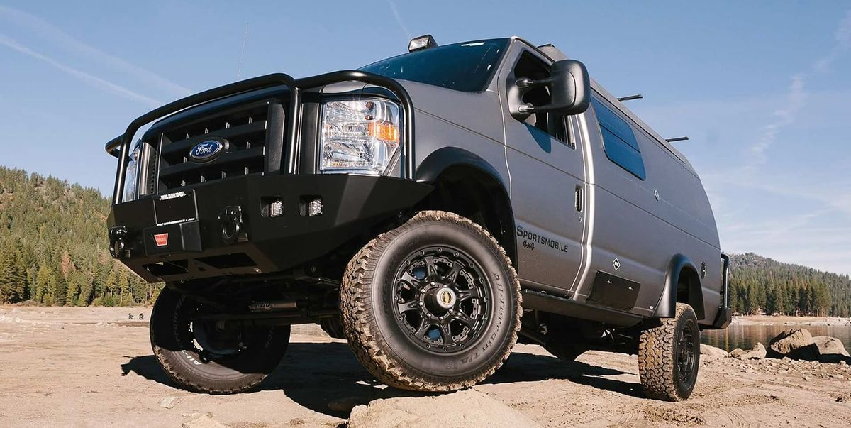 Sportsmobile Turns Ford S Classic E Series Into A Rugged Camping