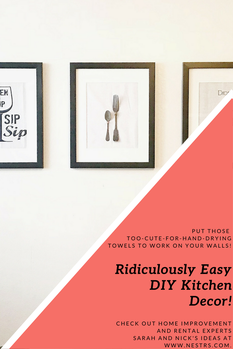 Ridiculously easy do it yourself kitchen decor out of hand towels ridiculously easy do it yourself kitchen decor out of hand towels solutioingenieria Choice Image