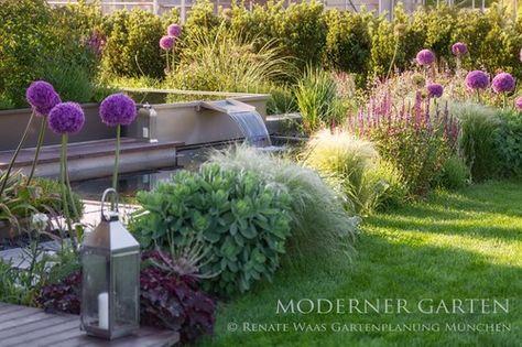 Photo of moderner Garten mit Blumenzwiebeln – im Herbst den Frühling pflanzen Beispiele …