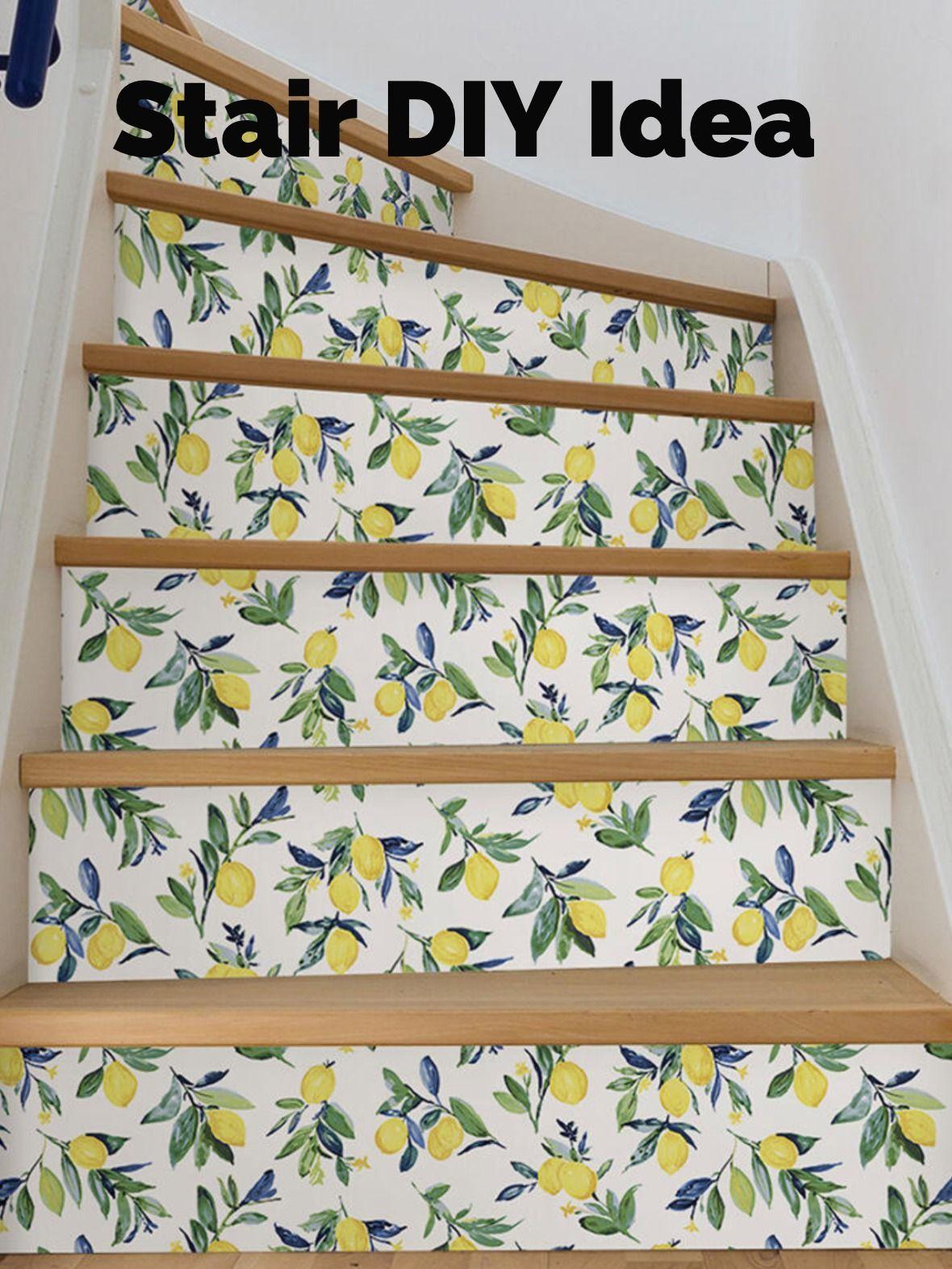 Nuwallpaper Lemon Drop Yellow Yellow Wallpaper Sample Nus3161sam The Home Depot Wallpaper Stairs Nuwallpaper Wallpaper Samples