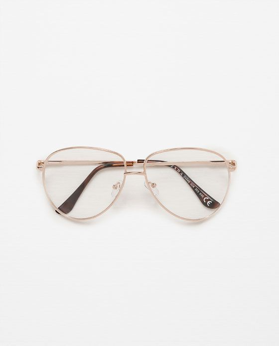 eea344adadf25 Image 1 of RETRO AVIATOR GLASSES from Zara   Accessory   Glasses ...