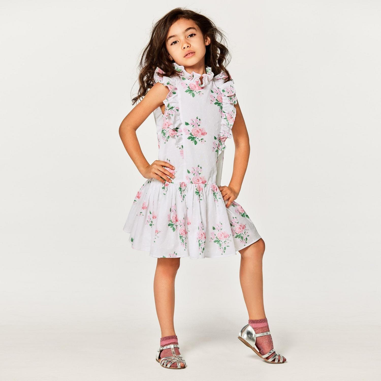Floral Dropwaist Dress