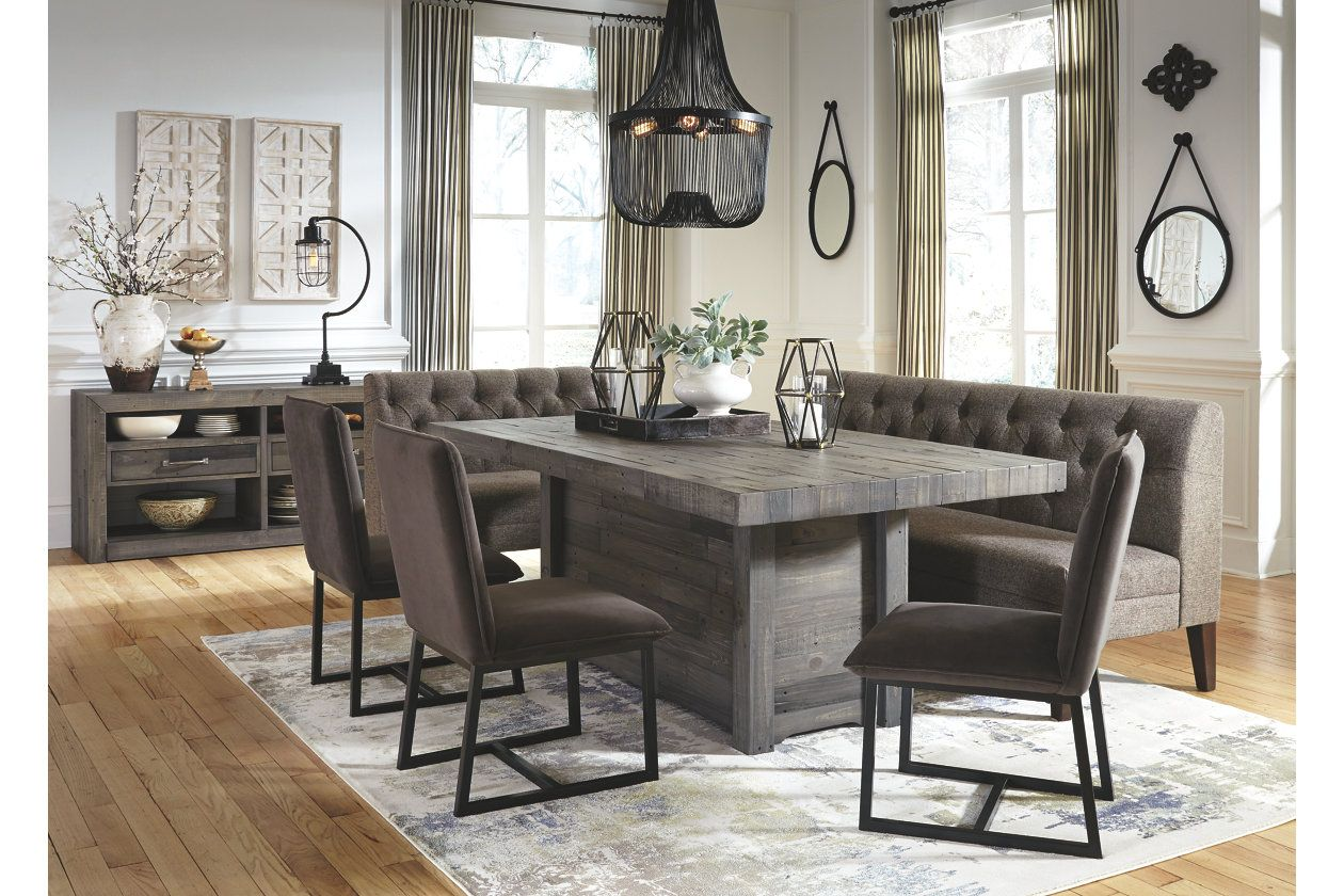 Tripton Dining Room Bench Upholstered Dining Bench Dining Room