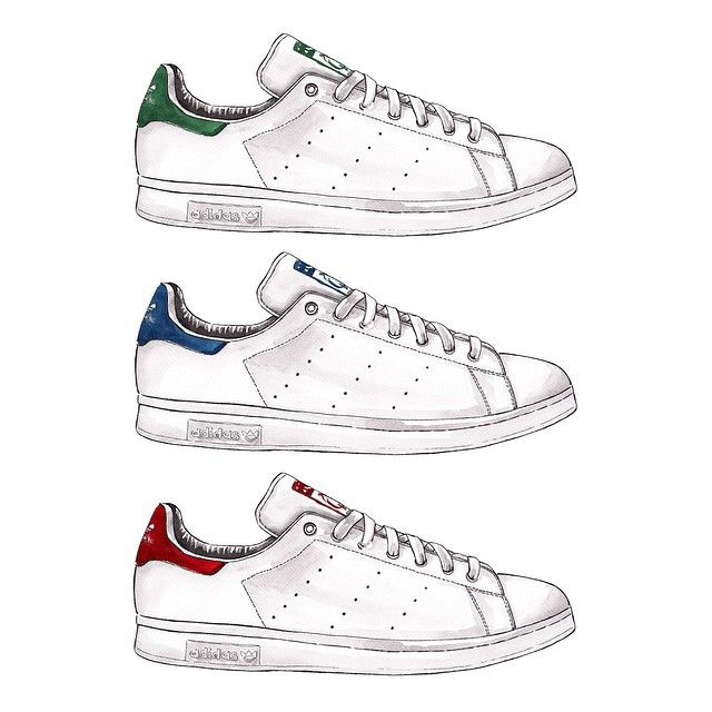 scarpe adidas con schizzi