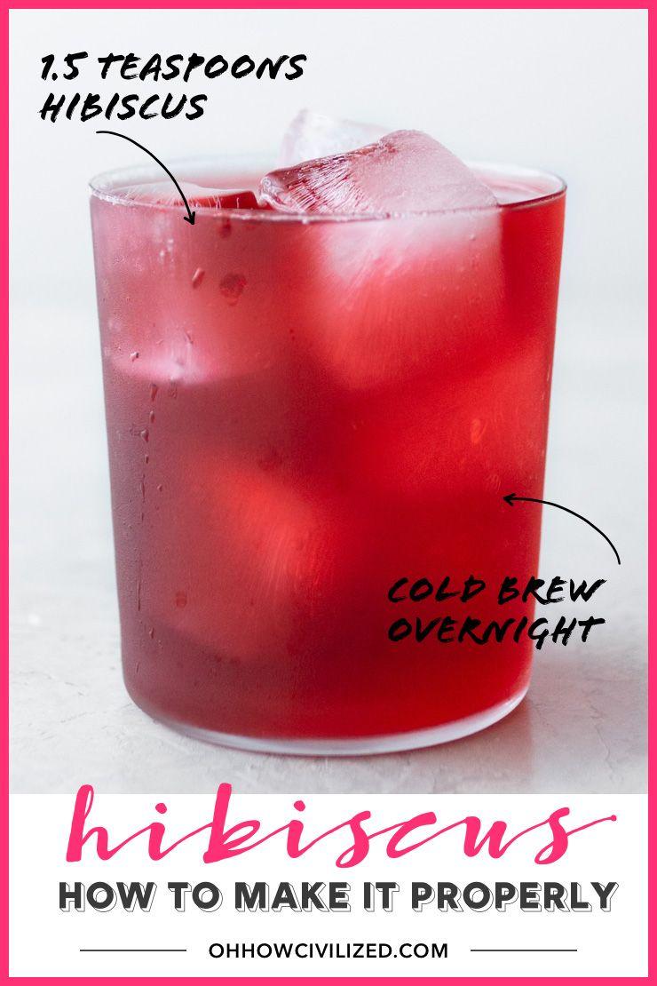 Photo of Hibiscus Tea Properly
