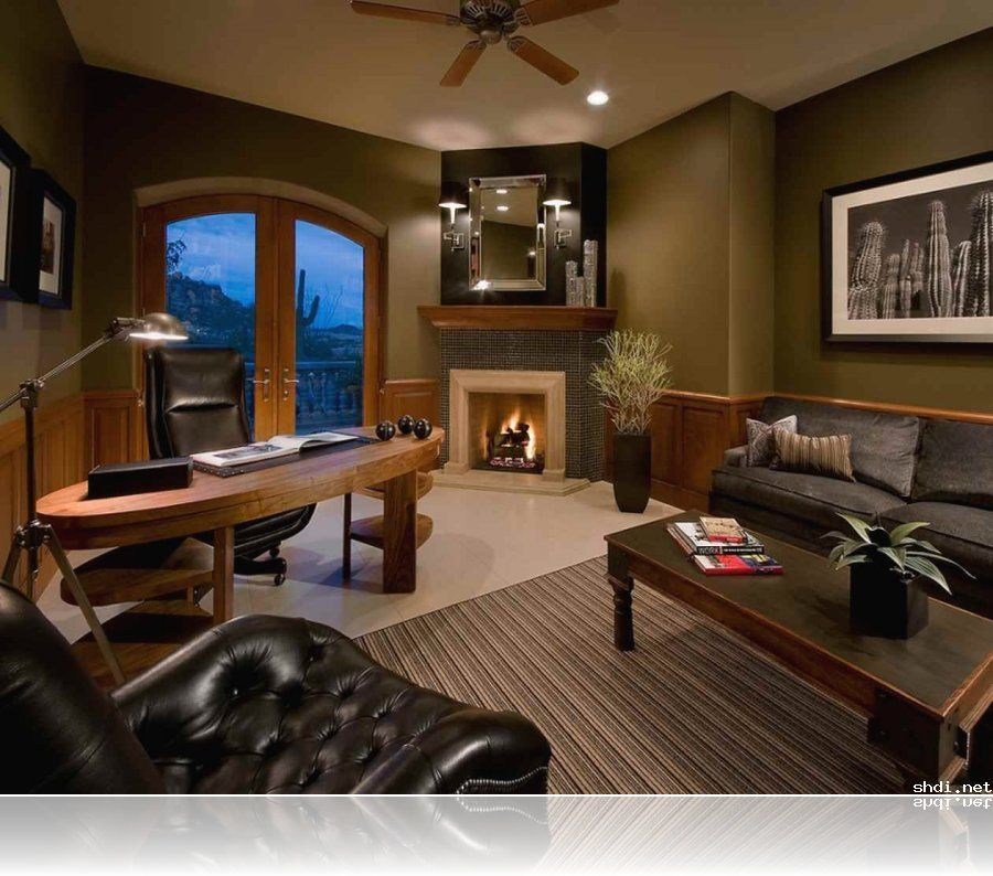 Luxury  Modern Home Office Design Ideas  Décor Simple Home