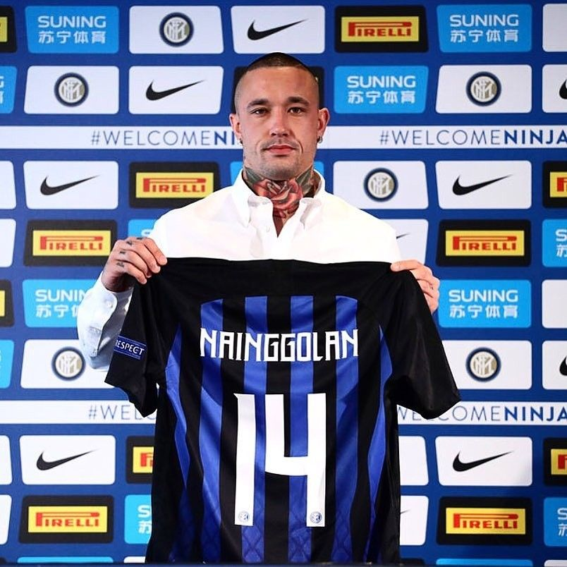 new style 91e60 e5cdb Radja Nainggolan joins Inter Milan from A. S. ROMA. #Inter ...
