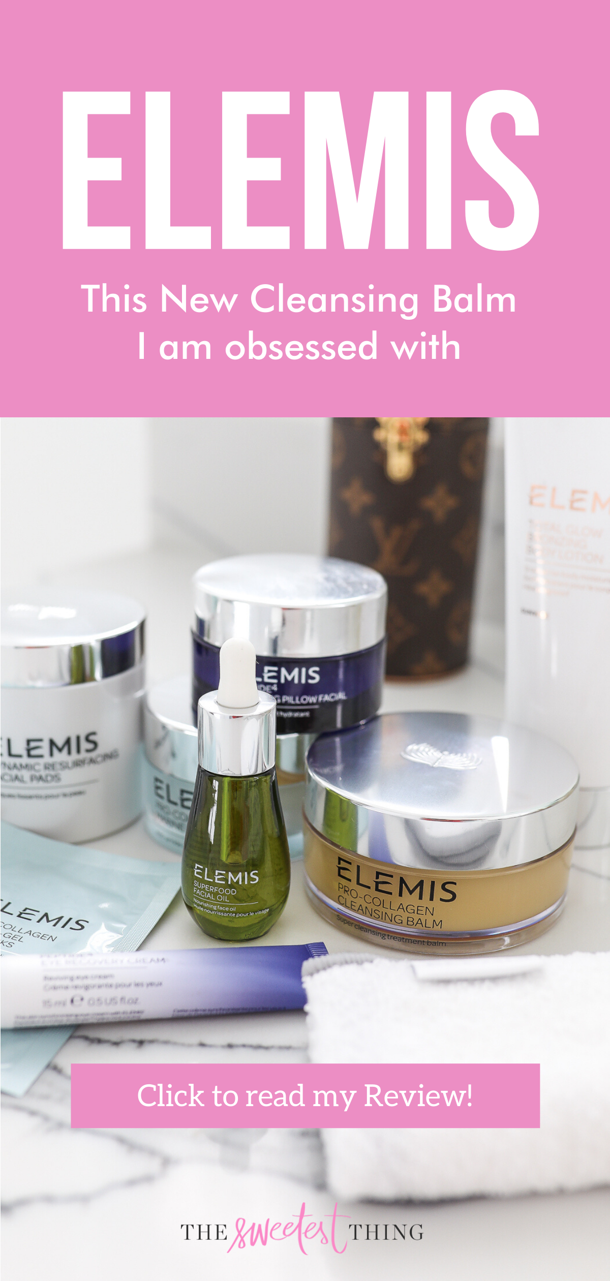 Fall Skincare Favorites Elemis Best Cleansing Balm Best