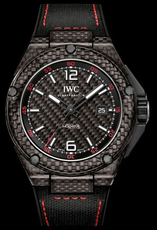 44192a5bed1 IWC - Ingenieur Automatic Carbon Performance limited edition watch. As new  parter with the Mercedes AMG Petronas Formula One Team
