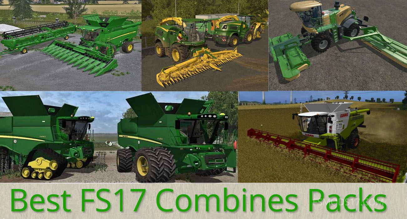 What a gorgeous day! We have collected Best FS 17 Combines