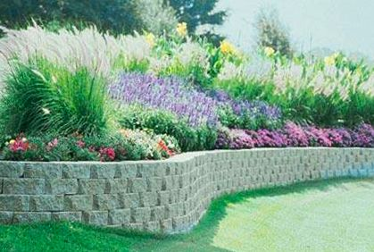 How To Build Concrete Bag Retaining Wall Low Cost Retaining Wall Page 2 Landscaping Contractor Concrete Retaining Walls Concrete Bags Retaining Wall