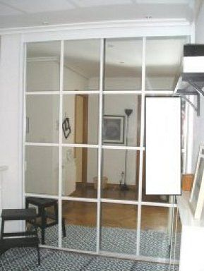 Tapar espejos de armario empotrado armario empotrado for Espejos cuadrados pequenos