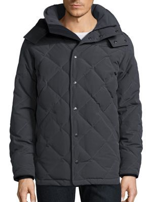 CANADA GOOSE Webster Quilted Down Parka. #canadagoose #cloth #parka
