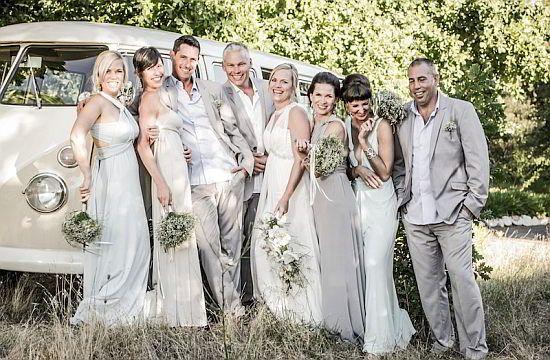 Mark Le Grange Has Fun At Weddings In Cape Town