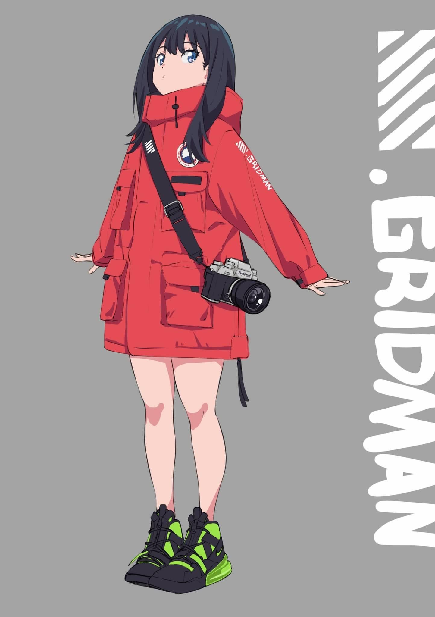 ssss gridman おしゃれまとめの人気アイデア pinterest tsak アニメの服装 イラスト カワイイアニメ