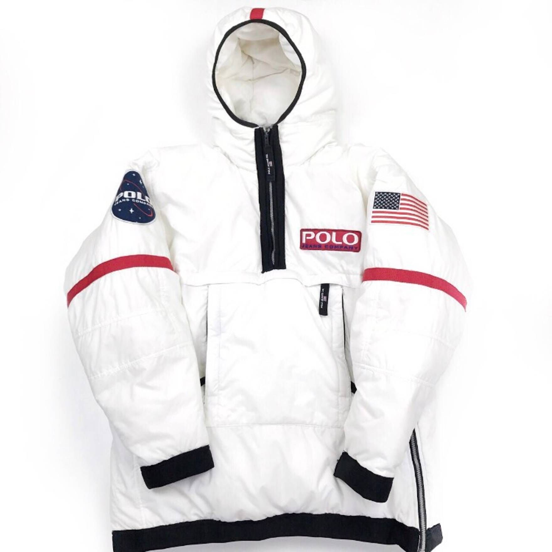 6c3ba481d8 Ralph Lauren Polo NASA spaceman Jacket Size US L   EU 52-54   3 ...