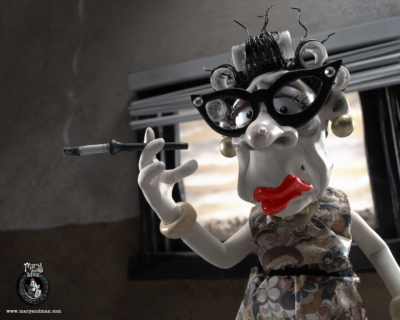 Mary And Max Movie Mary And Max02 Movie Review Mary Max Mary And Max Max Movie Stop Motion
