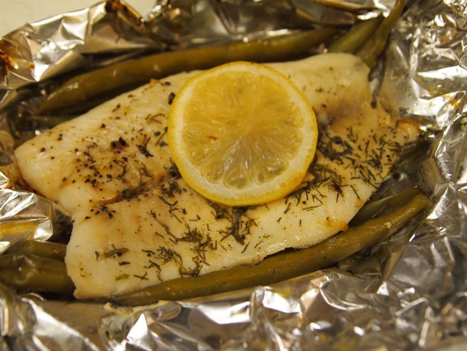 Tilapia with Green Beans Recipe