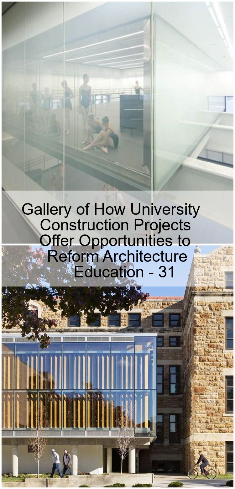 Gallery of How University Construction Projects Offer Opportunities to Reform Architecture Ed Gallery of How University Construction Projects Offer Opportunities to Refor...