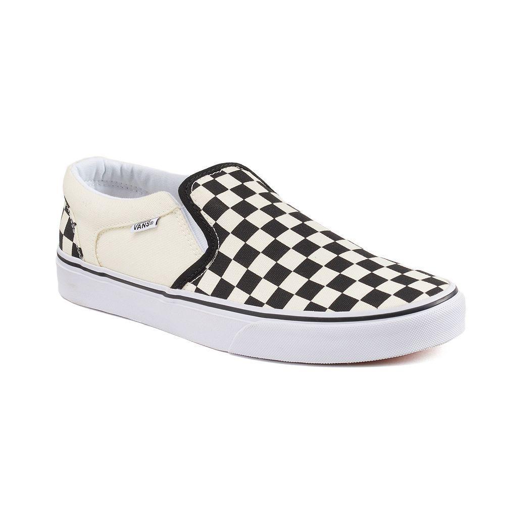 f26f174a83424a Vans Asher Men s Checker Skate Shoes