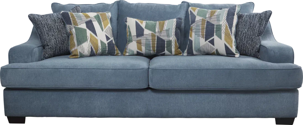havenridge blue sofa blue sofa blue