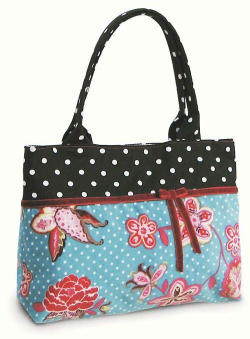 Dotted Dream Purse Free PDF Pattern Bags Tutorials Pinterest Awesome Free Purse Patterns