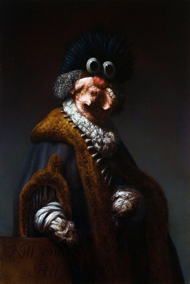 Paintings by Christian Rex van Minnen