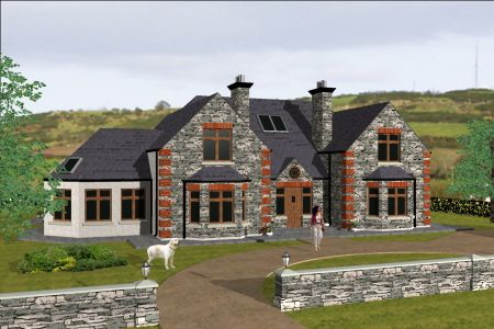 dorm073 | Building a house, Irish house plans, House inspo