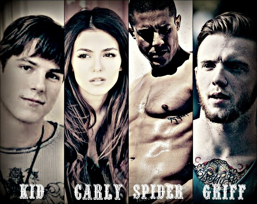 Kid, Carly, Spider & Griff, Crow's Row by Julie Hockley
