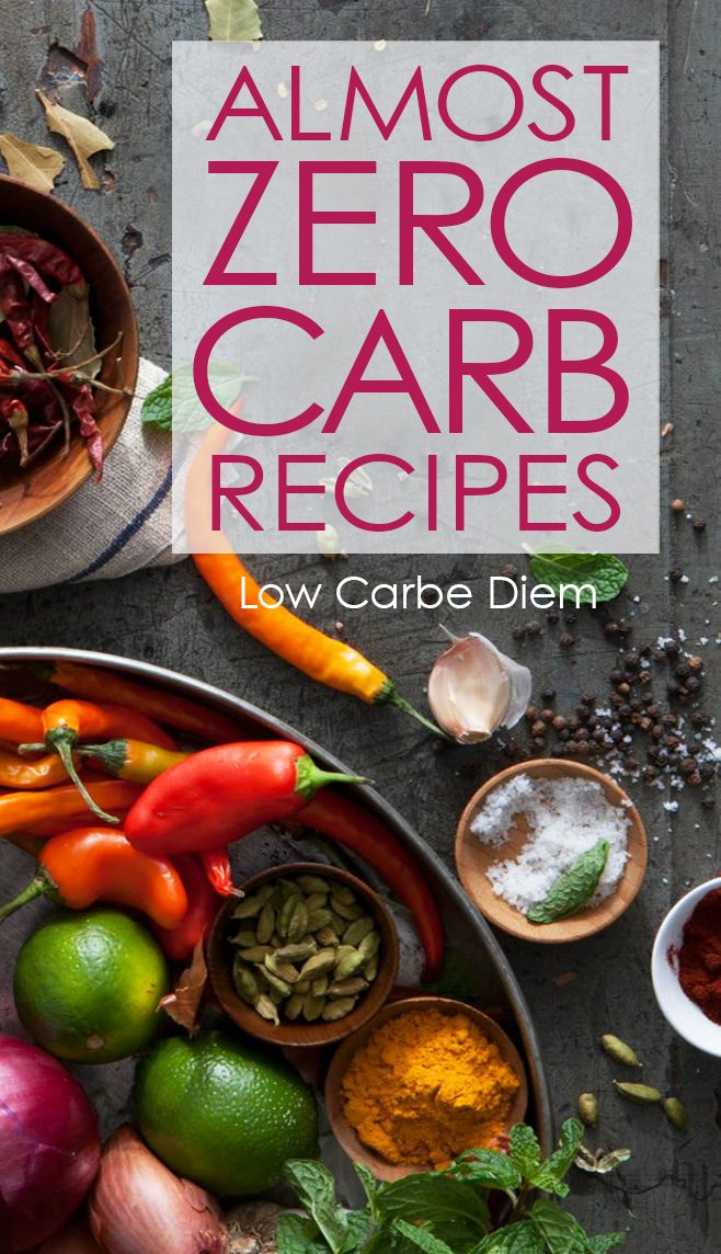 150 easy recipes with almost no carbs Sample menus, shopping list - sample shopping list