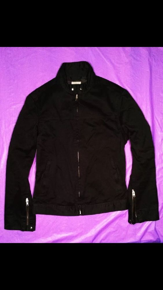 H&M Mens Biker Style Jacket Size Medium 100% Cotton in Clothing, Shoes & Accessories | eBay