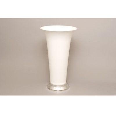 White Trumpet Vase Destination Wedding Ideas Pinterest