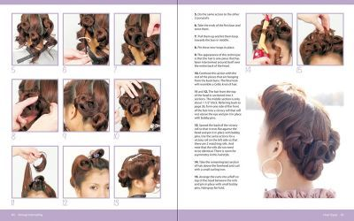 Livre Vintage Hairstyling - Retro styles with step-by-step ...