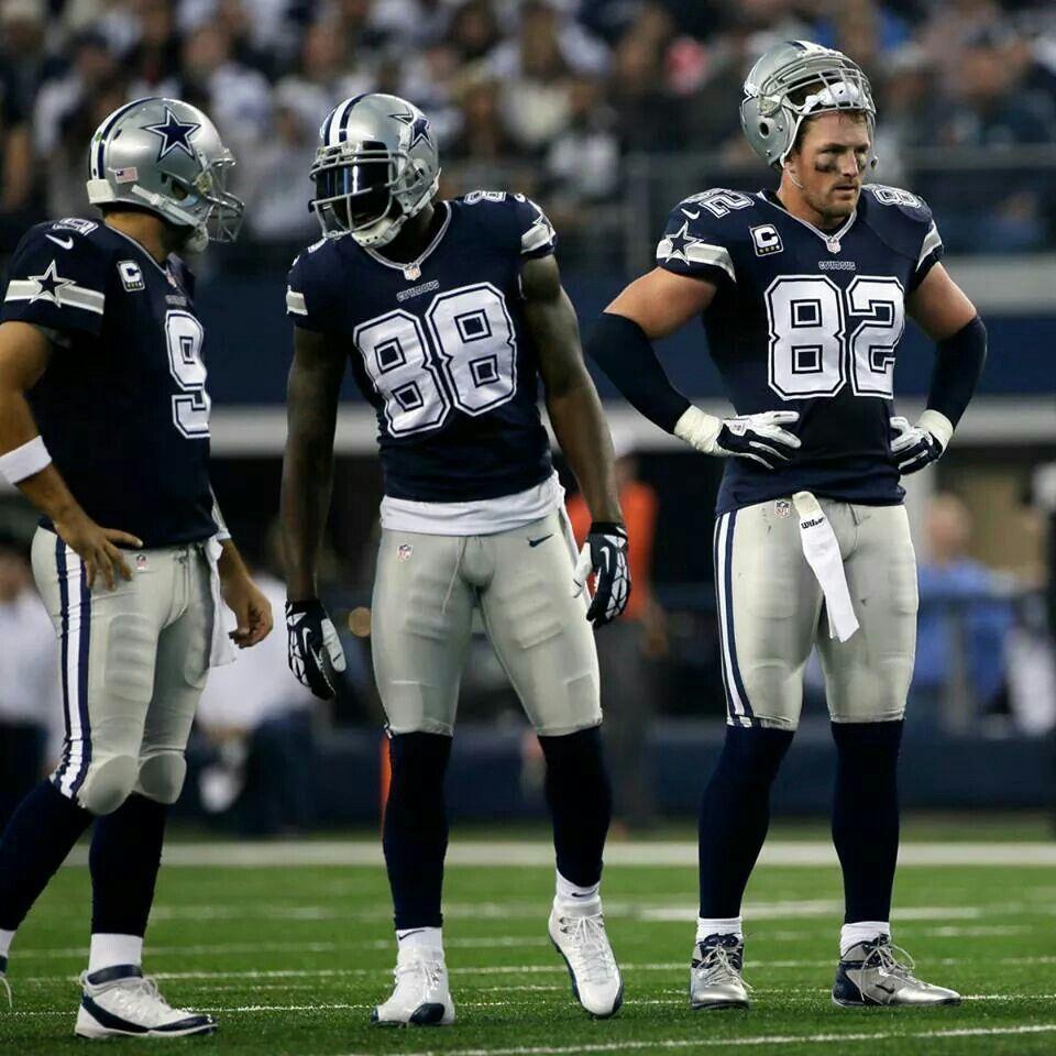 Romo, Bryant & Witten Football games online, Watch nfl