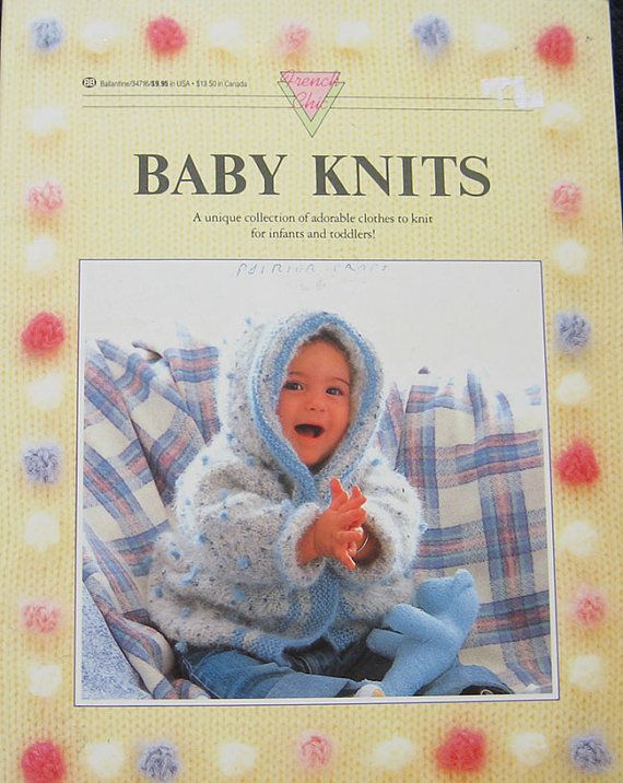 French Chic Baby Knits Knitting Pattern Book Chic Baby French
