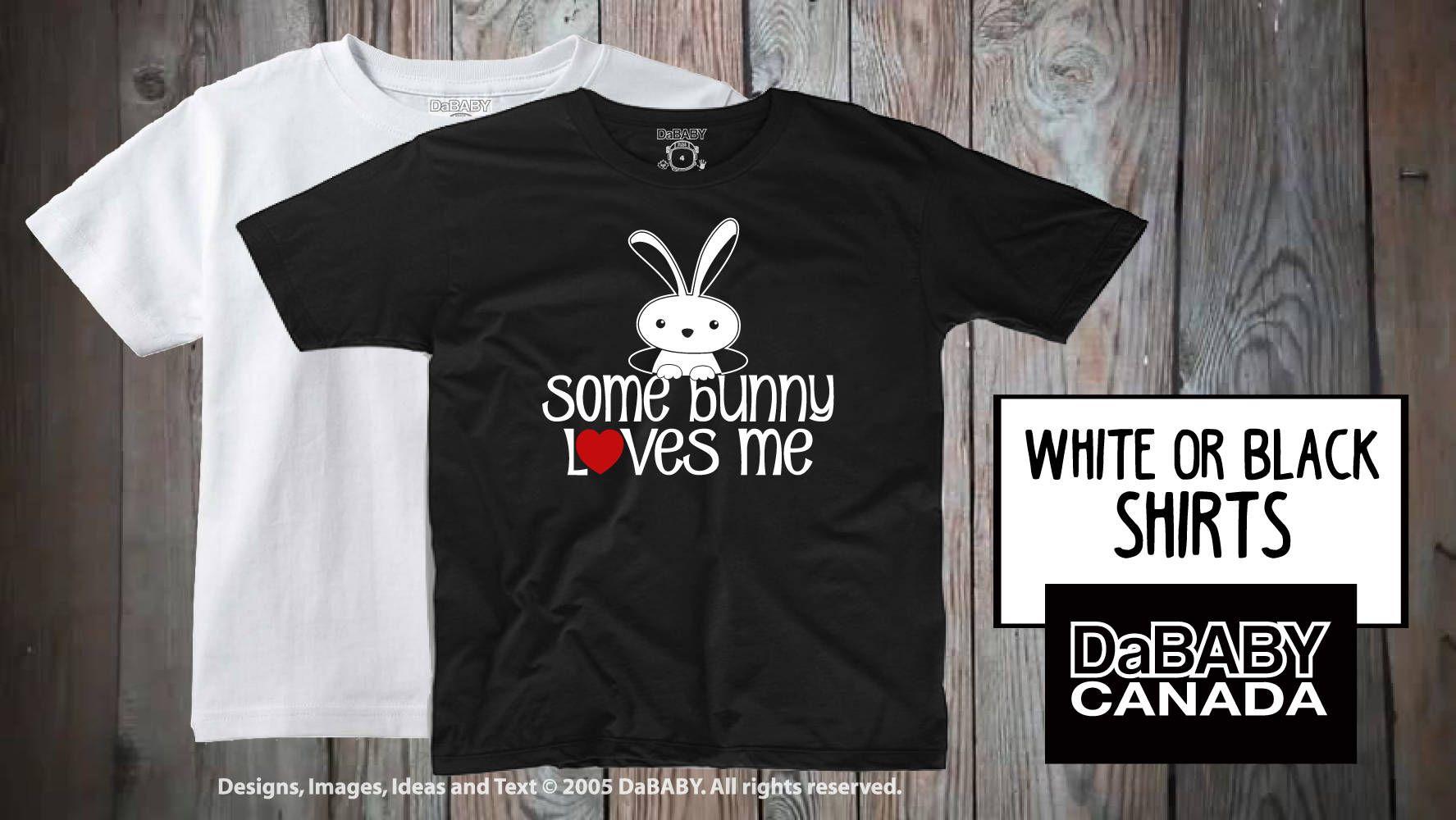 Easter tshirt some bunny loves me toddler easter tshirt
