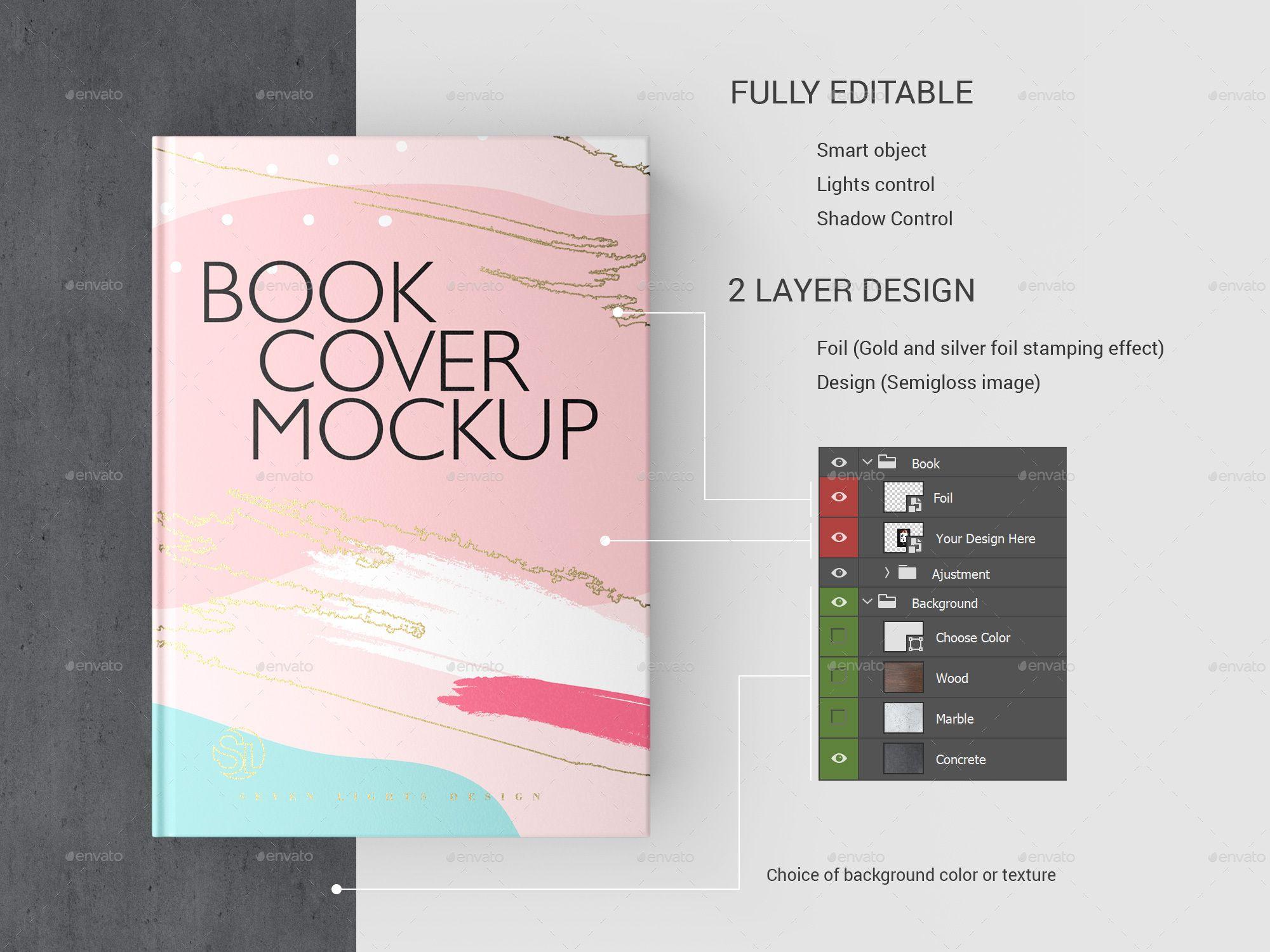 Book Cover Mockup Ad Book, affiliate, Cover, Mockup