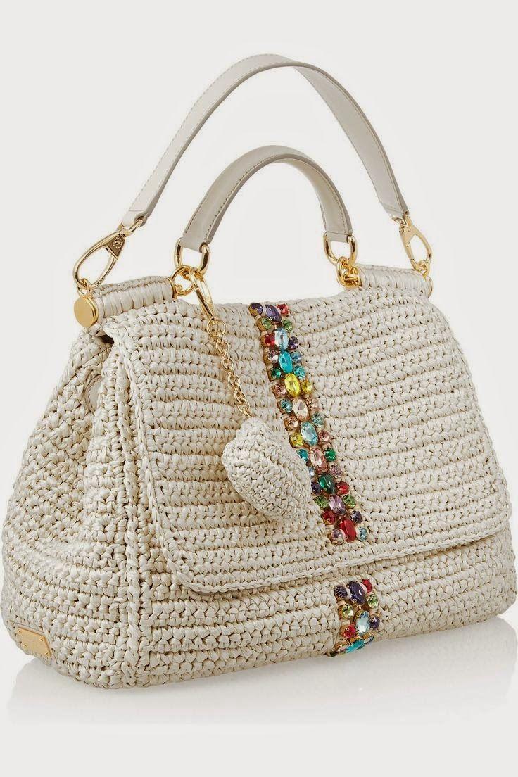 Bolsa De Mão Em Crochet : Ivelise feito ? m?o bolsas em croch? muitas inspira?es