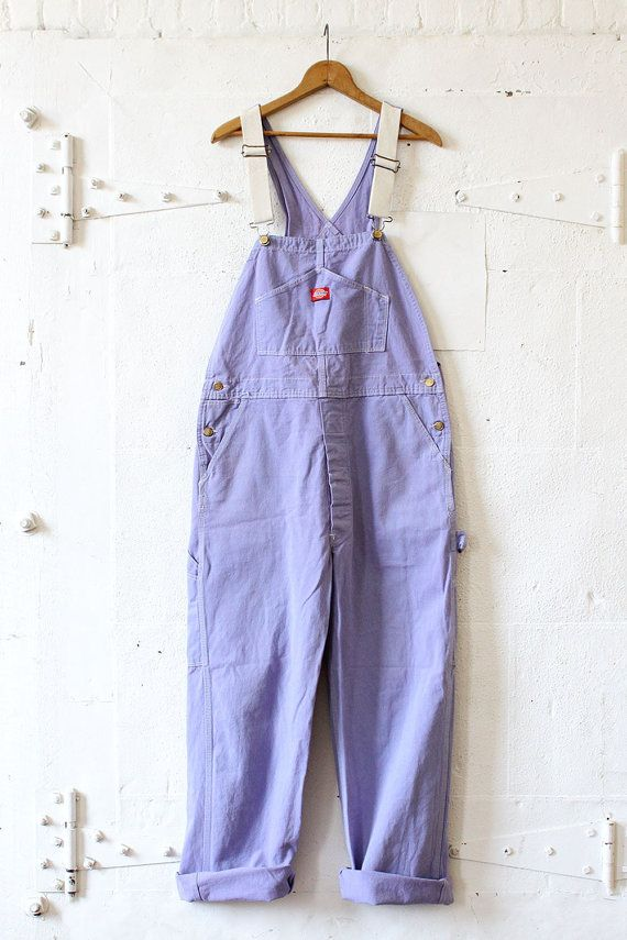 purple overalls m l dickies overalls lavender pastel on dickies coveralls id=13733